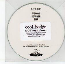 (EG931) Offshore, Venom / Downer / Slip - 2012 DJ CD