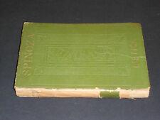 Spinoza L'ETICA 1^ Ediz.1929 ca. Ist.Editoriale Italiano Milano