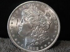 1882 O MORGAN- A RARER HIGHER GRADE PIECE - FULL MINT BLOOM FREE SHIPPING