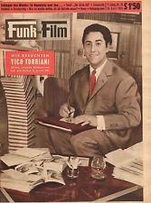 FUNK UND FILM 1955 nr. 16 - VICO TORRIANI / ANNA MARIA SANDRI /JOHANNES HEESTERS