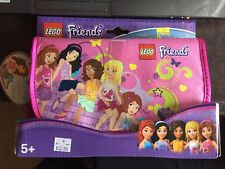 NEW Lego Friends Zip Bin Heartlake Wristlet purse pockets minidoll storage play