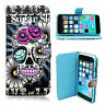 Smart Pattern Leather Wallet Silicone Full Cover Case For Apple iPhone 6 6 Plus