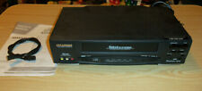 New listing Sylvania Vcr Model Ssv6001 With Instructions 4 Head Vcr - Working - No Remote