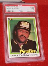 Willie Stargell - 1981 Donruss #132 - PSA 7 (NM)