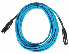 Rockville Rcxfm20E-Blue 20 Foot Female to Male Xlr Mic Cable 100% Copper