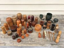 Assorted lot of Wooden Containers