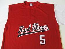 Rochester Red Wings Cal Ripken Jr #5 Sga 2007 Hof Jersey-Xl Baltimore Orioles Os