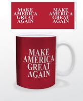 MAKE AMERICA GREAT AGAIN 11 OZ COFFEE MUG POLITICS USA REPUBLICAN PARTY TRUMP!!!