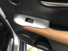 4 PCS ABS Chrome Trim Window Switch For Lexus NX200T/300H 2015-2016 LHD