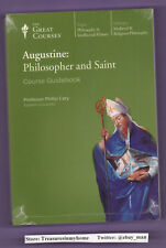 Augustine Philosopher and Saint Course Guidebook w/ CD 2005 Phillip Cary New