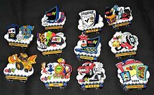 2004 eBay Live New Orleans Set of 14 Collectible Pins
