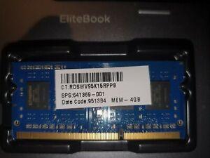 Notebook Arbeitsspeicher 8GB DDR3 204 Pins 1600Mhz (2x 4GB)