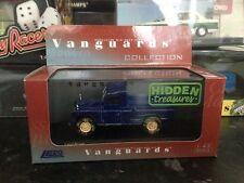 Vanguards Land Rover Weathered Blue 1/43 MIB Hidden Treasures VA07606