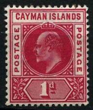 Cayman Islands 1905 SG9, 1d Carmine KEVII MH #D31679