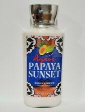 Bath And Body Works Agave Papaya Sunset Body Lotion 8 oz / 236ml New