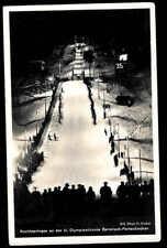 Germany WWII WW 2 Olympic 1936 used card