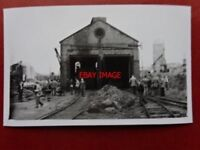 PHOTO  UNIDENTIFIED LOCO SHED NO 416 CAN YOU IDENTIFY IT?