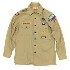 Boy Scouts of America Scouting Bsa Uniform Shirt Size Youth Xl Long Tan Khaki