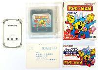 Sega Game Gear Gioco Pac-Man Jap. Conf. Orig.