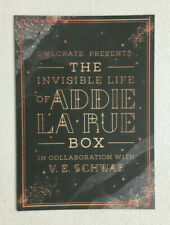 The Invisible Life of Addie LaRue *Owlcrate V.E. Schwab Box* - Sold Separately