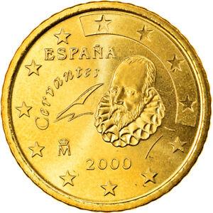 [#819664] Espagne, 50 Euro Cent, 2000, Madrid, FDC, Laiton, KM:1045