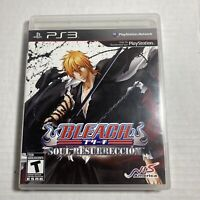 Bleach Soul Resurreccion Sony PlayStation 3 | PS3 Free Ship Complete video game