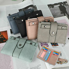 Women Ladies Small Leather Wallet Credit Card Holder Bifold Purse Clutch Handbag