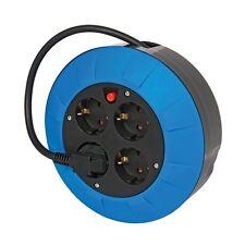 Enrouleur Rallonge Electrique Ménager Noir 5 m - NF