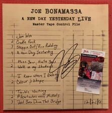 "JSA COA JOE BONAMASSA signed ""A New Day Yesterday Live"" autographed NEAR MINT"