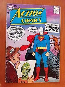 DC Action Comics, Vol. 1 # 239 (1st Print) Superman's New Face