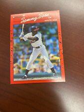 New listing ROOKIE Sammy SOSA 1990 Donruss Baseball Card #489 Chicago White Sox VG FS
