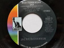 "JACKIE DeSHANNON - Mediterranean Sky / It's So Nice 1970 POP SOUL 7"" Liberty"