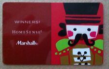 NEW Winners home sense Marshalls 2016 holiday GIFT CARD RECHARGEABLE BILINGUAL !