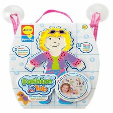 Alex Toys 806 Rub a Dub For Tub Fashion Bath Toys Stickers For Kids Age 3yr Plus