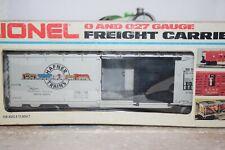 O Scale Trains Lionel Hafner Trains Ttm Box Car 7781