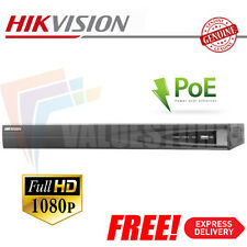 Hikvision DS-7604NI-E1/4P/A 4 Channel Network CCTV Recorder / NVR 4x POE 1080P