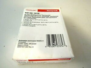T812A1010 Honeywell Heat Only T-Stat Spst Pos Off OEM T812A1010