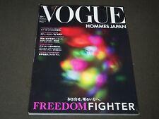 2011-2012 AUTUMN/WINTER VOGUE HOMMES JAPAN MAGAZINE - GREAT FASHION - O 5865