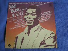 NAT KING COLE AT THE SANDS - NEAR MINT 1976 MUSIC FOR PLEASURE LABEL LP
