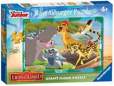 DISNEY THE LION GUARD GIANT FLOOR PUZZLE 60 PIECE RAVENSBURGER JIGSAW