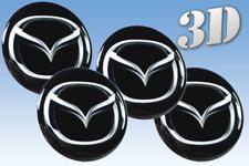 Wheel stickers Mazda  Centre Cap Logo Badge Wheel Trims 3d 30mm