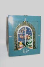 "Lenox ""Christmas Morning Windows"" 1995 Ornament - Mib"