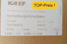 SONDERVERKAUF! TOP-Preis 11x Schleifbänder Crofinish S 1150 x 2200 mm Korn 240