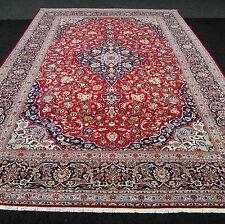 Antiker Orient Teppich 386 x 270 cm Alter Perserteppich Blau Rot Antique Red Rug