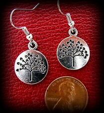 TREE Earrings GENEALOGY JEWELRY - Tree of Life Jewelry - Art Deco style TREE