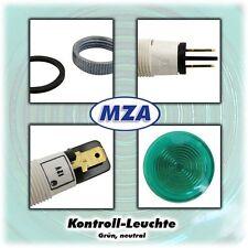 Kontrollleuchte Grün - Neutral - Signalleuchte für Motorrad MZ u.a.