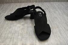 **Munro Laine M455186 Sandals, Women's Size 9.5 W, Black