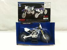 NEW RAY MODELLINO MOTOCROSS YAMAHA YZ 450-F SCALA 1:12 JAPAN DIRT BIKE