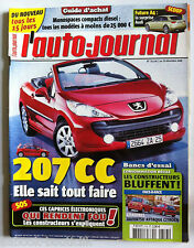 AuTO JOURNAL du 7/12/2006; 207 CC/ Futur A4/ Daihatsu attaque Citroën