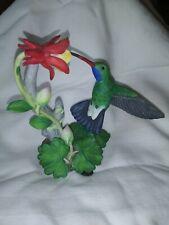 "Lenox Garden Bird Collection 1992 ""Broad-Billed Hummingbird"" Gorgeous!"